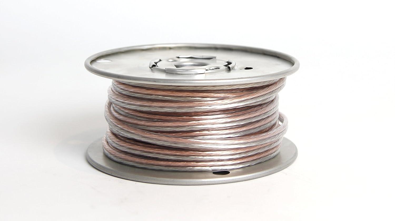 Orb Audio 50-Feet Roll USA Made 16 Gauge Speaker Wire in Designer White 50 Feet Roll