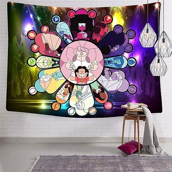 G5DA7fgah6e Crystal Gems Wall Hanging Art Tapestry Mural Bedroom Living Room Dorm Home Decor