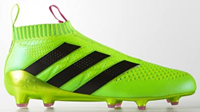 best authentic f40e9 58e8a adidas ace 16+ purecontrol Firm Ground Boots (UK 9.5, Solar ...