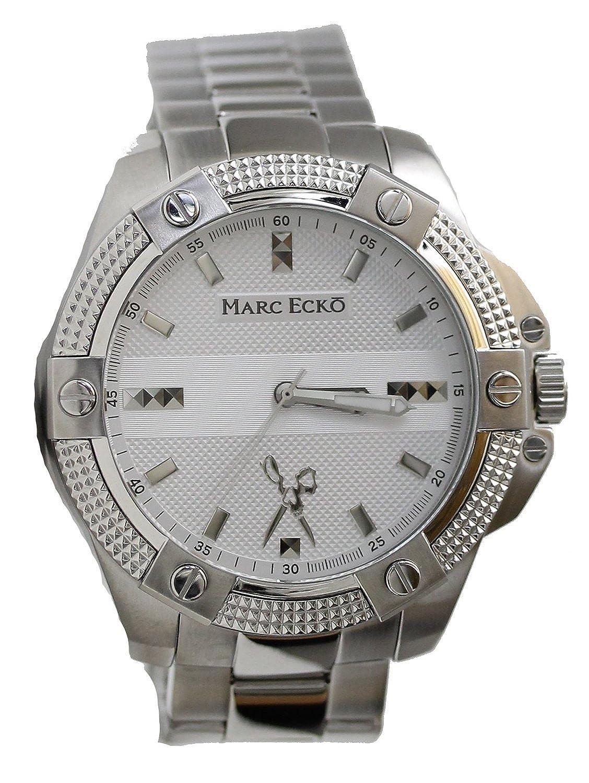 Marc Ecko Herren-Armbanduhr Analog Quarz Edelstahl M16533G1