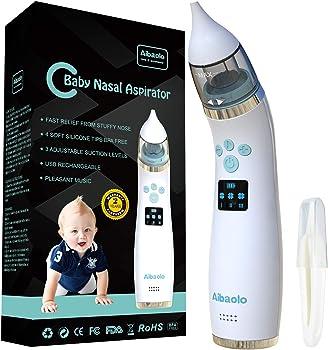 Aibaolo USB Rechargeable Electric Baby Nasal Aspirator