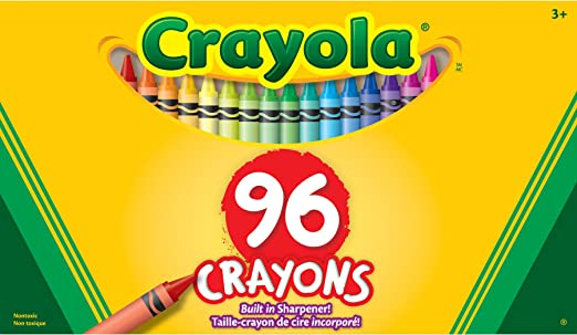 crayola crayons wbuilt in sharpener 96pkg 52 0096 amazoncouk kitchen home - Crayola Crayons Pictures