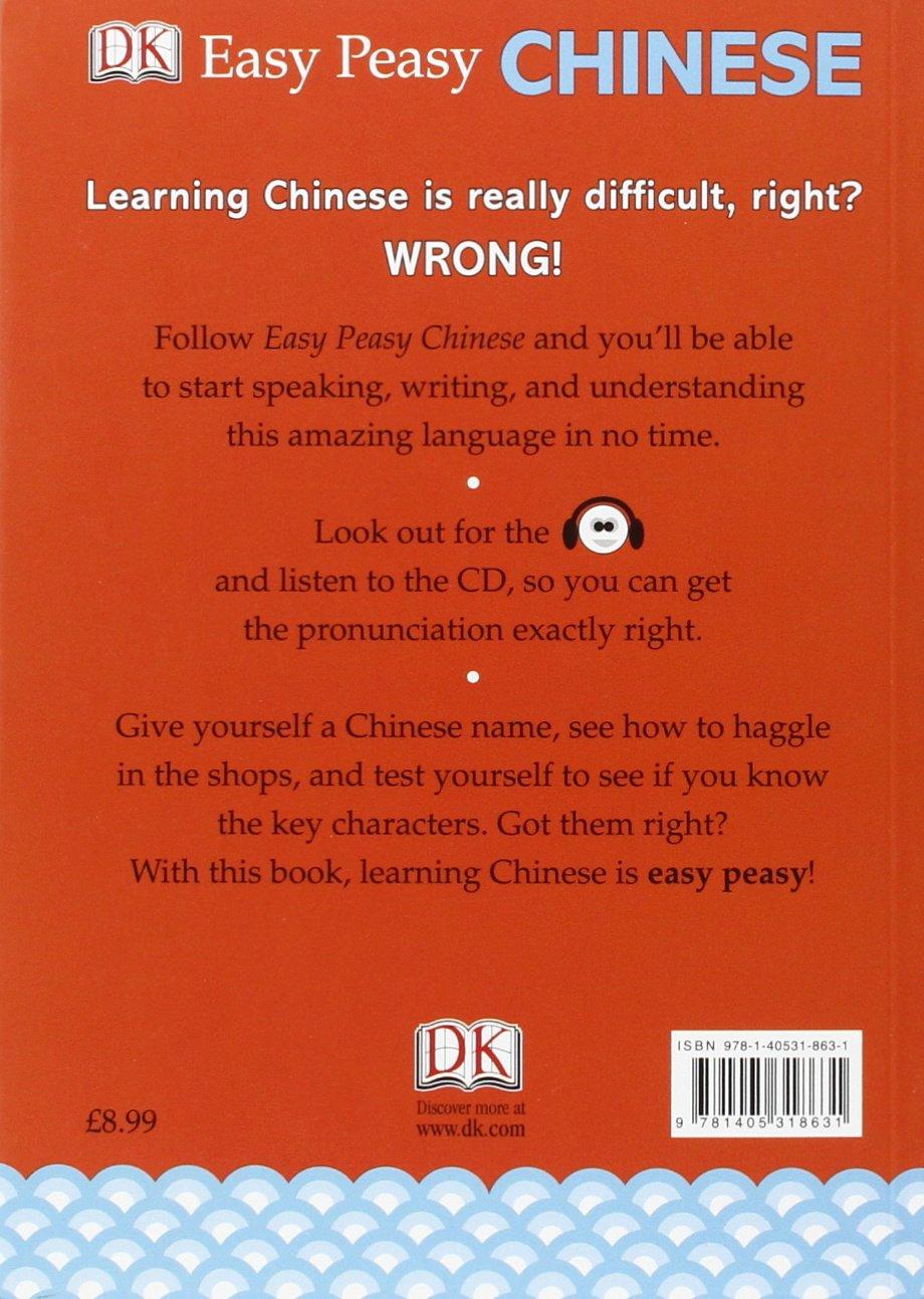 Easy Peasy Chinese Mandarin Chinese For Beginners Book Cd
