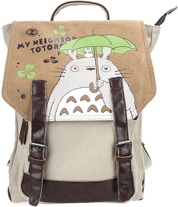 CoolChange Mochila de Lino de Totoro con Compartimiento Interior ...