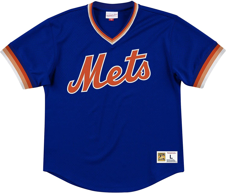Mitchell /& Ness New York Mets MLB Mens Dinger Mesh Jersey Shirt