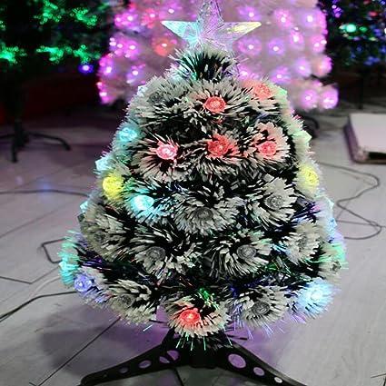 SDGNLKSDF JIN Fiber Optic Christmas Tree Creative LED Colorful Glitter  Decorations Gift 2 Pieces, 60cm - Amazon.com: SDGNLKSDF JIN Fiber Optic Christmas Tree Creative LED
