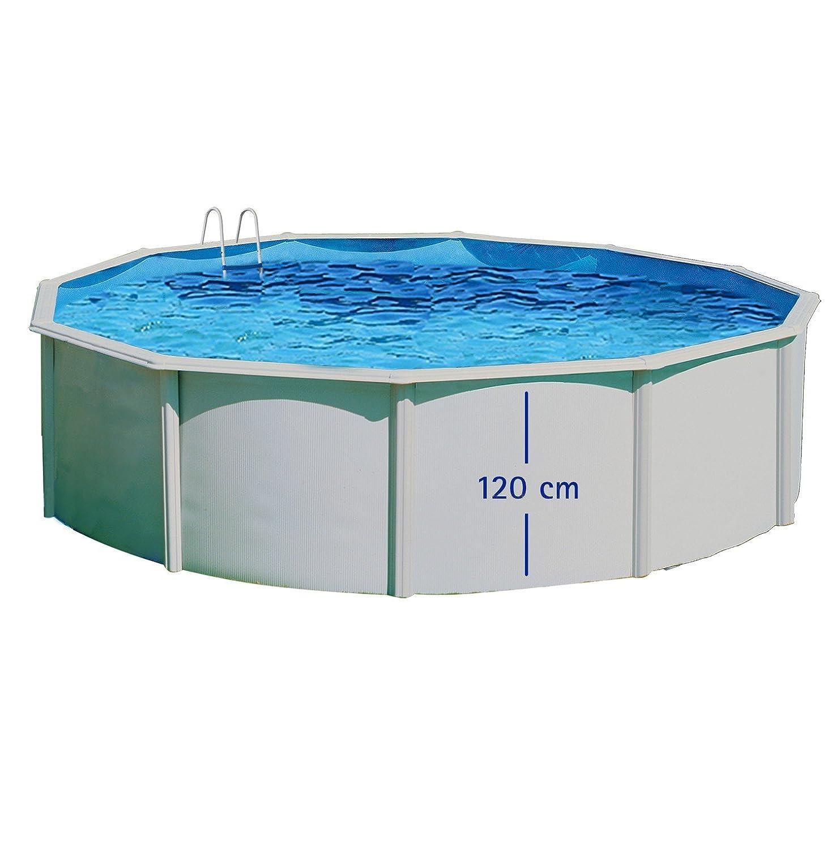 TOI - Piscina PRESTIGIO CIRCULAR 460x120 cm Filtro 8 m³/h: Amazon.es: Juguetes y juegos