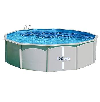 Pool Circular Ausserhalb Boden 460 X 120 Doppelwandig Hartschale