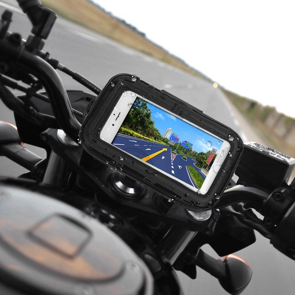 Rupse Motorrad Handyhalterung Wasserdicht Motorrad Elektronik