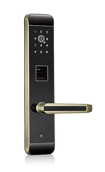 Amazon.com: YATACH - Cerradura de puerta con control ...
