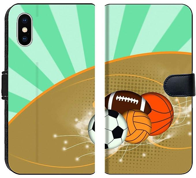 Amazon Com Liili Premium Iphone X Flip Micro Fabric Wallet
