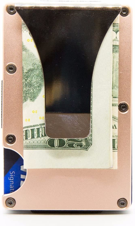 RFID-Blocking Slim Minimalist Card Holder//Travel Wallet For Credit Cards