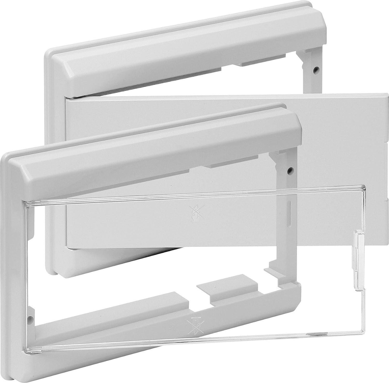 Clásica 5213B Marco y Puerta para Caja de Distribución: Amazon.es ...