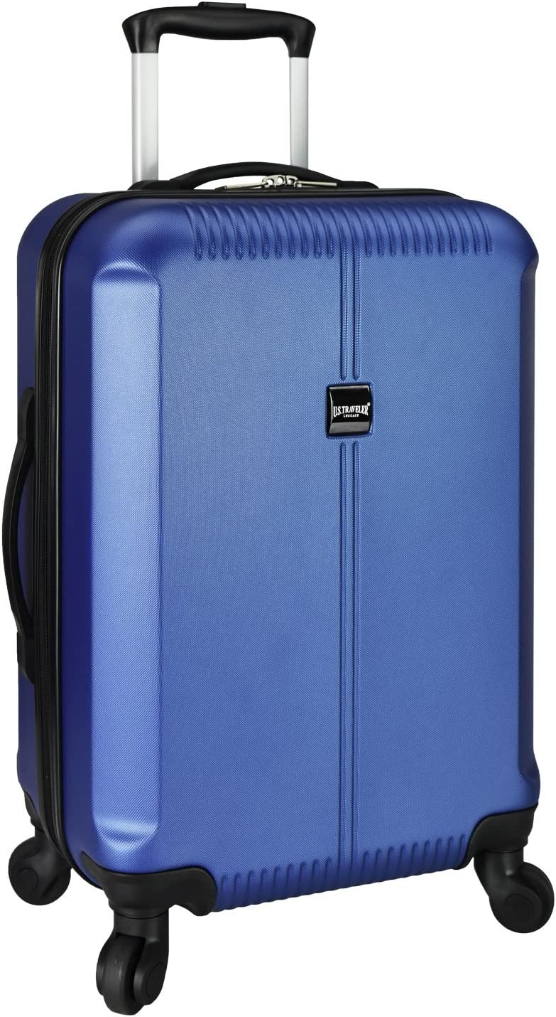 U.S. Traveler Navy Carry-On Spinner Luggage