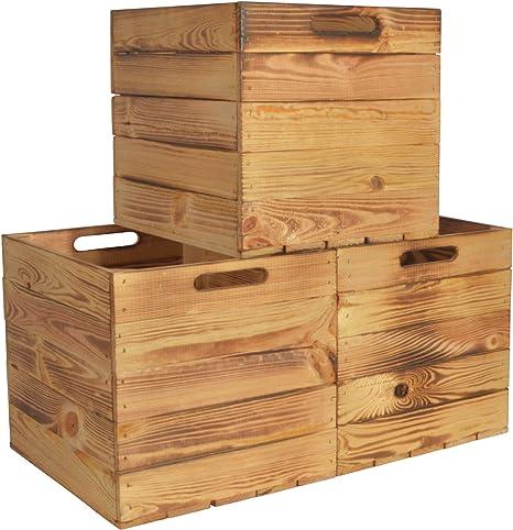Chiccie Kallax - Caja de almacenaje de madera, 33 x 38 x 33 cm: Amazon.es: Hogar