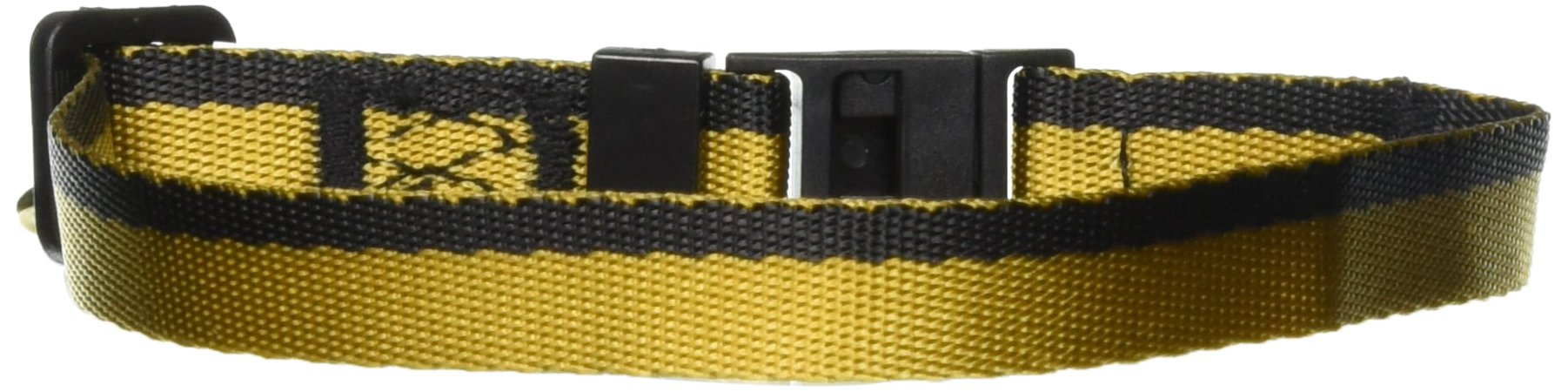 Crowded Coop Star Trek Uniform Cat Collar - Gold