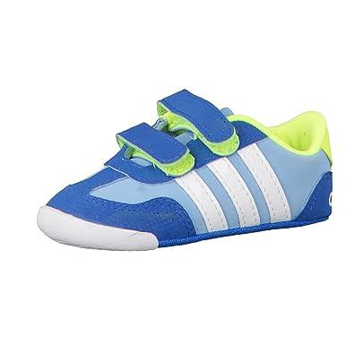 adidas Dino Crib Trainers for Babies Boys, 17, Blue