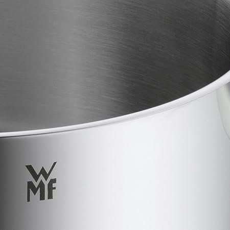WMF Mini - Cazo de Ø10cm y 0,5 litros, cromargan acero inoxidable publido, apto para todo tipo de cocina incluido inducción: Amazon.es: Hogar