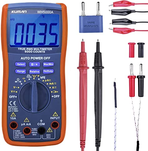 Kuman Digital Multimeter
