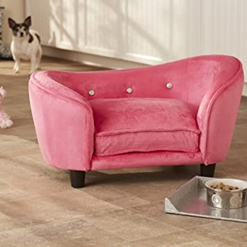 Bed Cat Pink Couch Pet Dog Beds Storage Cushion Sofa Luxury trohxdsQCB