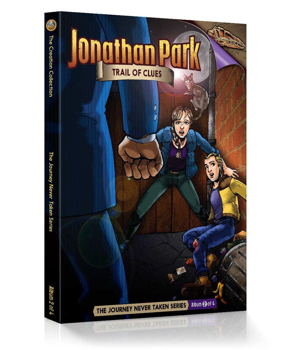 Download Jonathan Park The Journey Never Taken #2: Trail of Clues pdf
