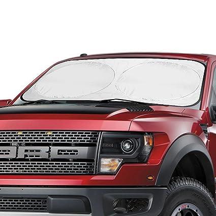 Amazon.com  Aomaso SUV Windshield Sun Shade 63 34inch Auto Car Front Rear  Window Foldable Visor Large Sunshade UV Protector Block Cover  Automotive d6344cd43cc