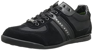 Hugo Boss Hugo Boss Men s Akeen 50247604 Fashion Sneakers Medium Grey Suede Shoes Medium Grey Factory Price