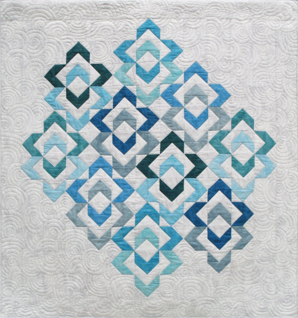 Love Links Quilt Pattern to use with Studio 180 Designs Wing Clipper Tool MOD010