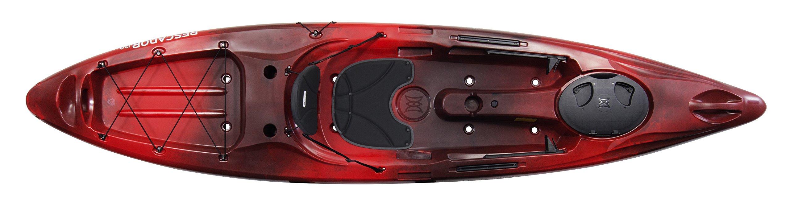 Perception Kayak Pescador 12 Bs, Red Tiger