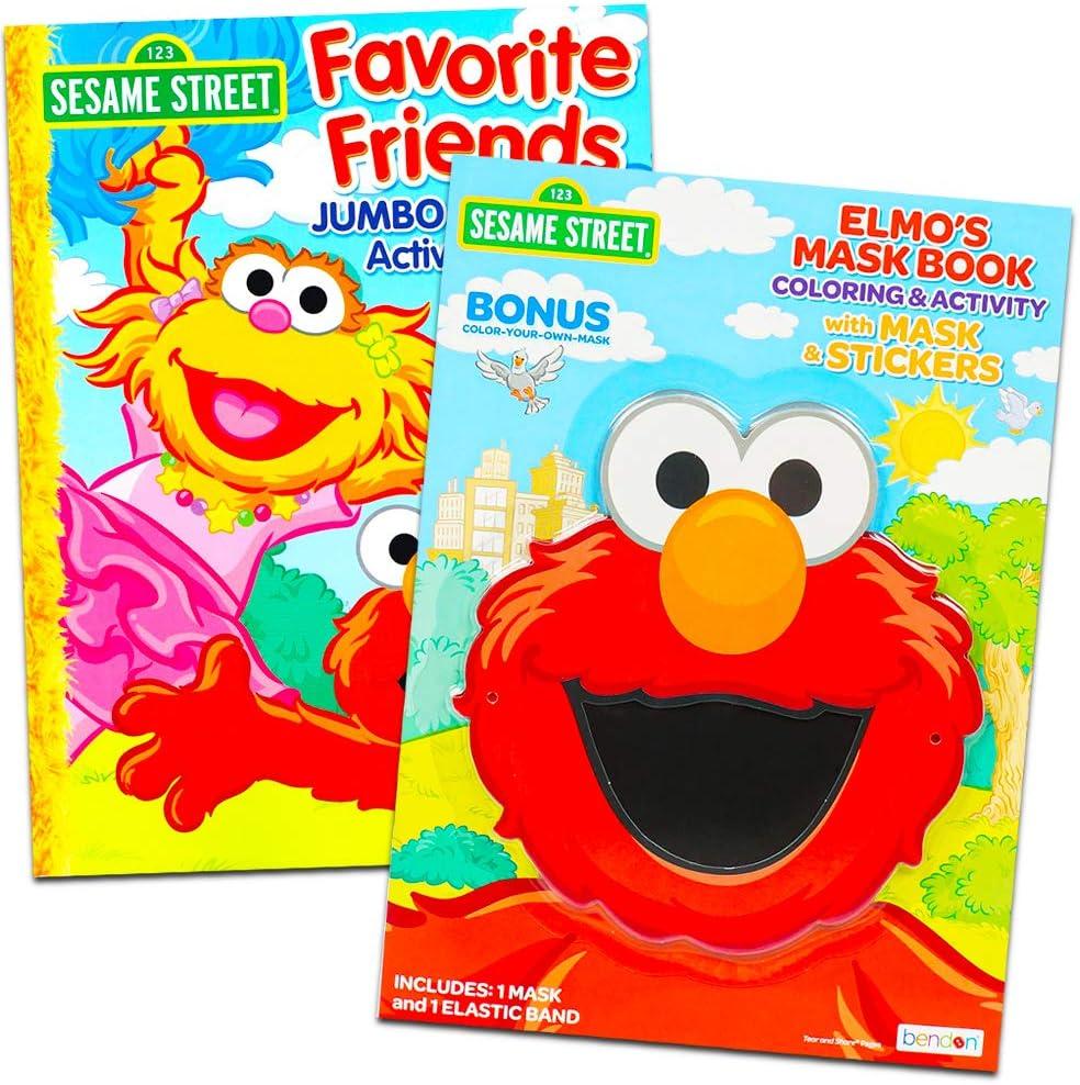 - Amazon.com: Sesame Street Coloring Book Set (2 Books - Elmo And