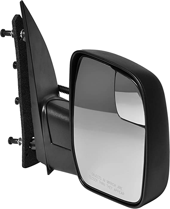 Right Rear View Mirrors fit 2003-2013 Ford E-150 E-250 2004-2013 Ford E-350 E-450 Super Duty E-450 Power Heated Manual Folding ECCPP Passenger Side Mirrors