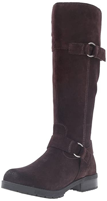 Amazon.com: Clarks Women's Faralyn Dawn Riding Boot: Shoes