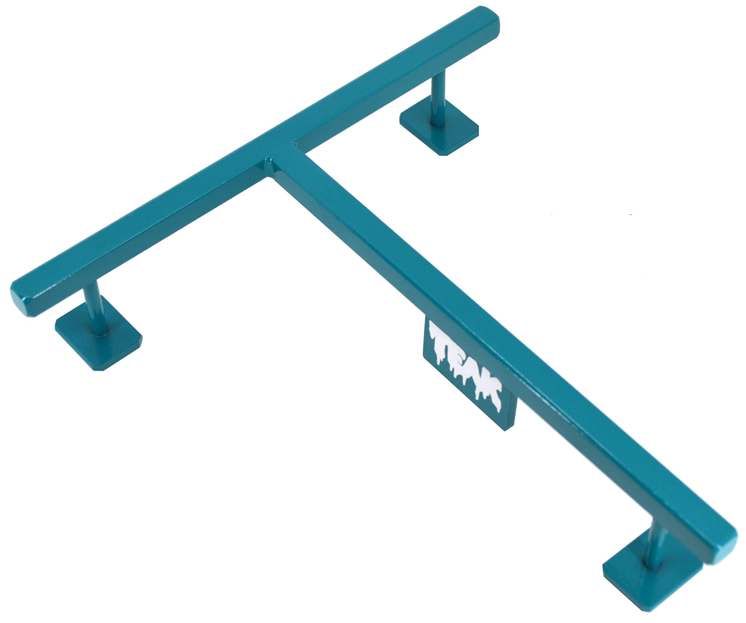 Teak Tuning EMA Collaboration T Rail, Limited Edition Teal Colorway, 10'' Long, 1.5'' Tall by Teak Tuning