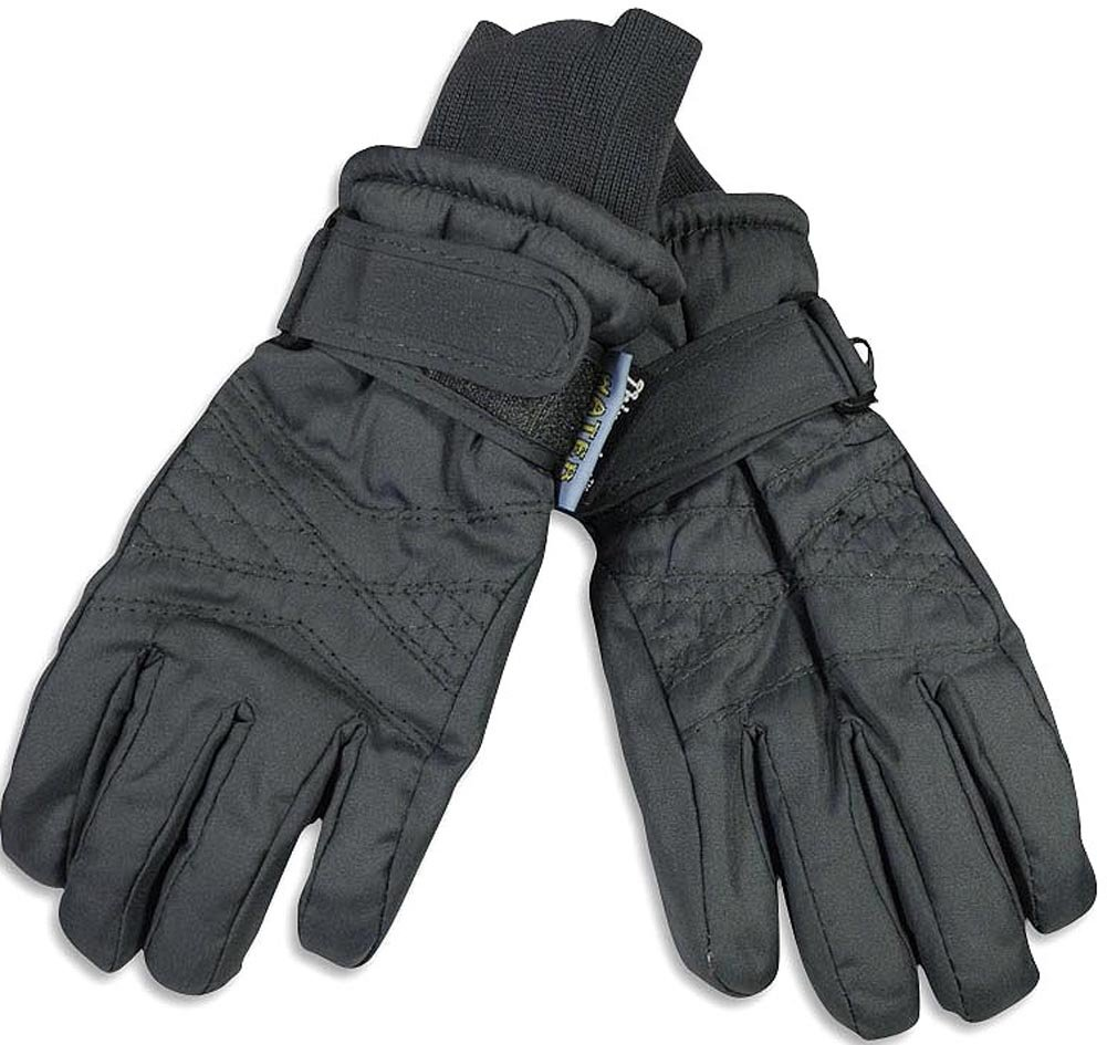 Winter Warm-Up - Little Boys Ski Glove, Charcoal 36473-onesize