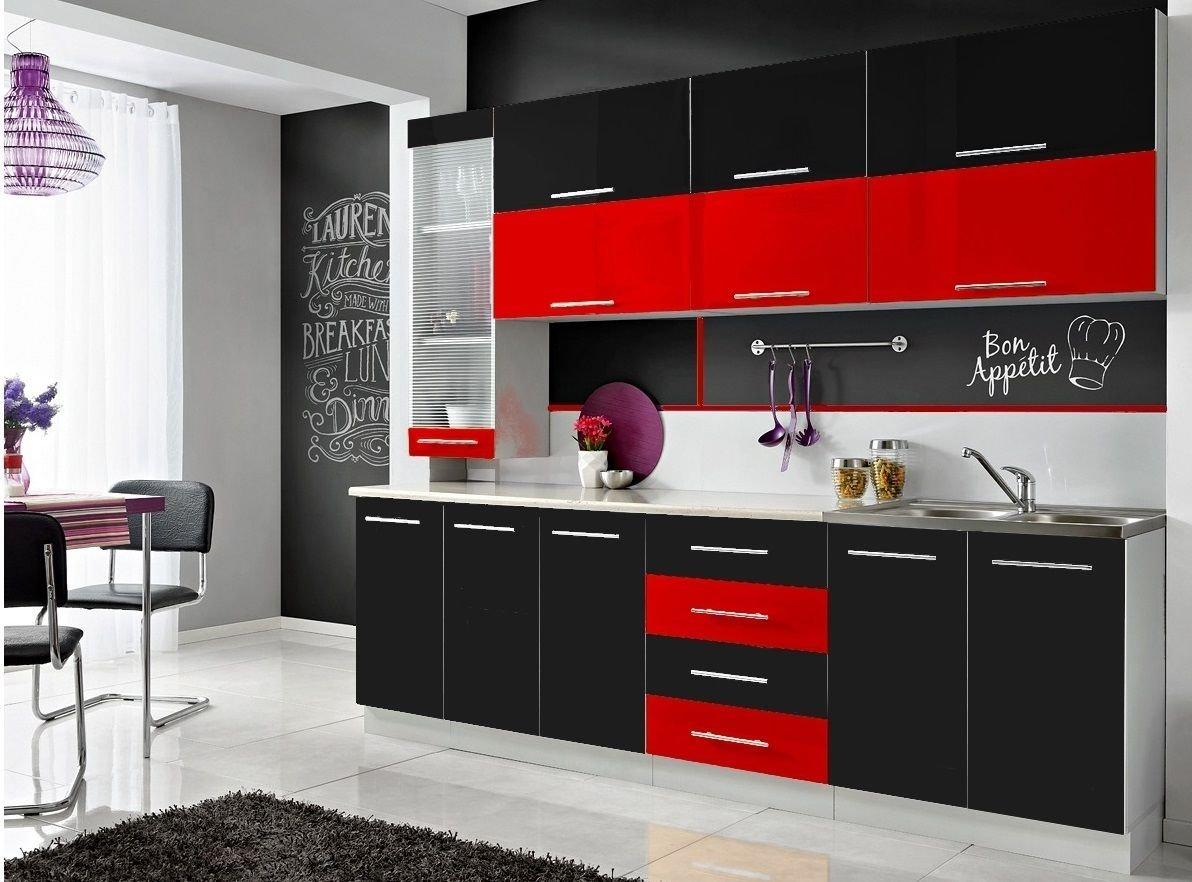 CON Komplette Küche Moni S 260 cm Verschiedene Farbkombinationen ...