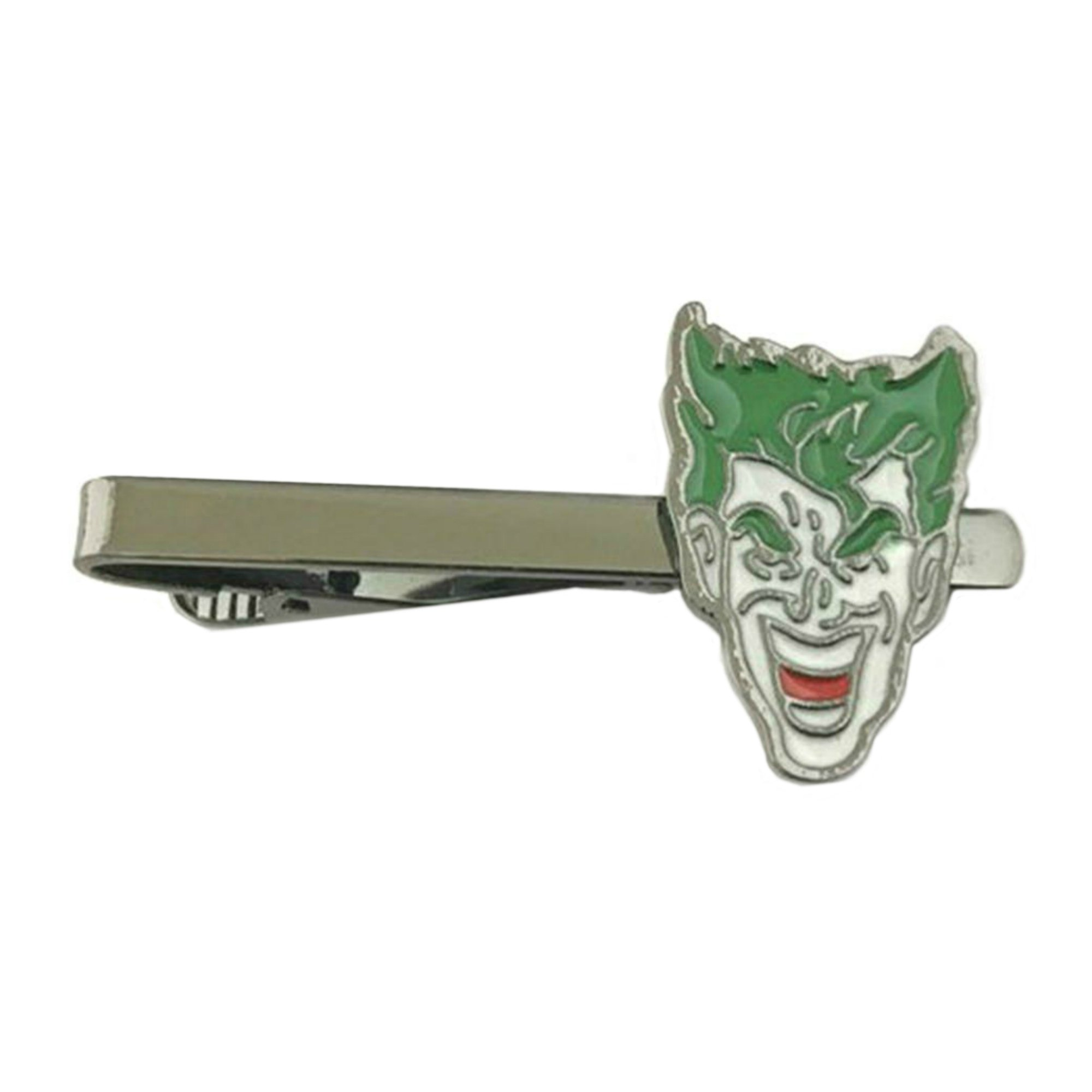 Outlander DC Comics - Joker - Tiebar Tie Clasp Wedding Superhero Logo w/Gift Box
