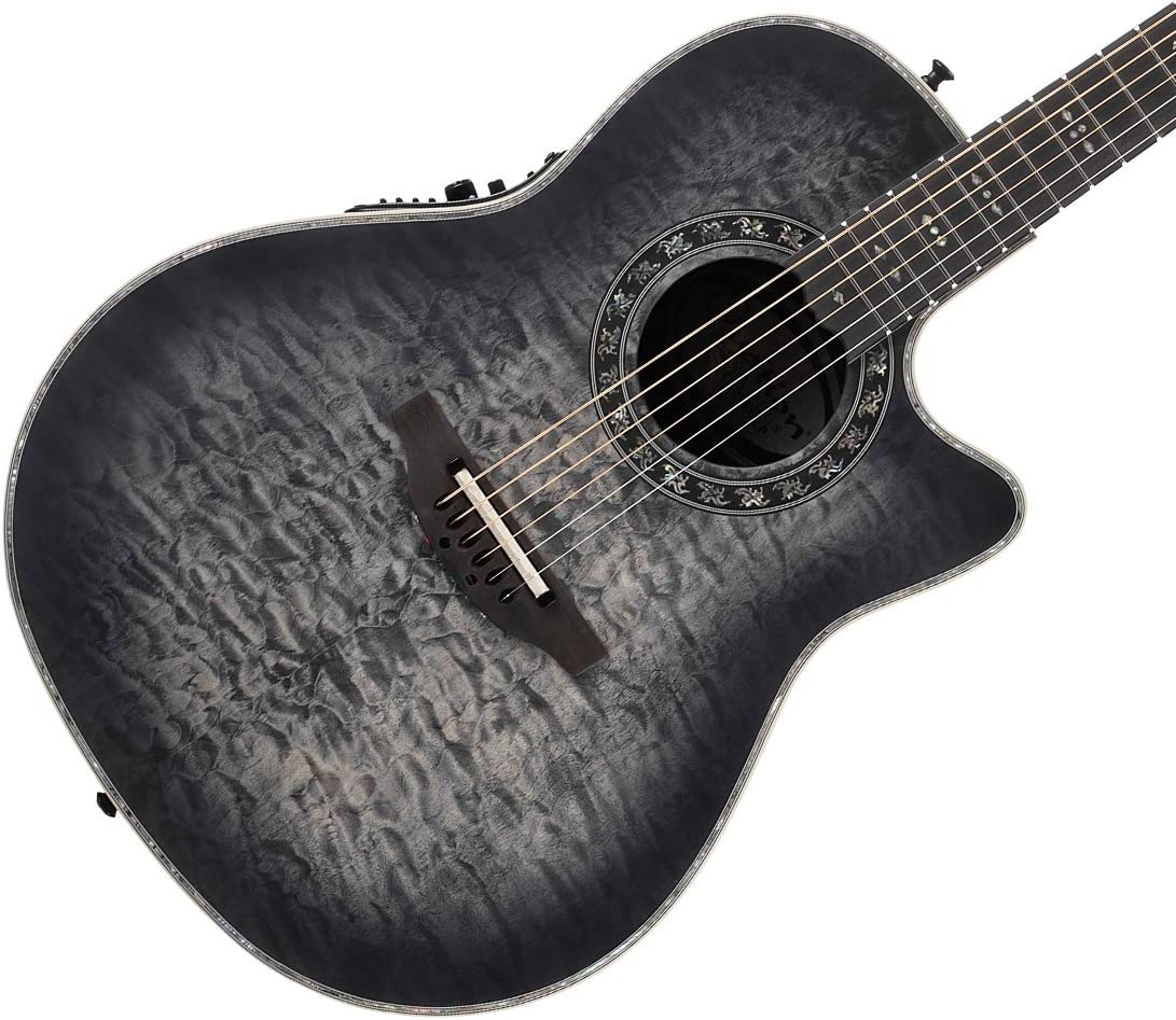 Ovation c2079axp-5s madera de arce madera leyenda Plus acolchada guitarra electroacústica