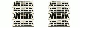8 GE Fridge Odor Air Filters For Cafe Series Fits CFE28TSHSS, CYE22TSHSS, CZS25TSESS & CNS23SSHSS by LifeSupplyUSA