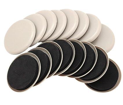 Merveilleux 16 Pack 3.5u0026quot; Reusable Furniture Sliders For Carpet,Furniture Mover,  Reusable Pads