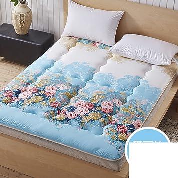 FUIOLWP Colchón/colchón/Almohadillas gemelas/colchones Dormitorio Estudiante/Solo colchón Acolchado/colchón Tatami-L 90x195cm(35x77inch): Amazon.es: Hogar
