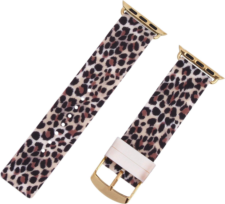 Betsey Johnson Leopard Smart Watch Strap