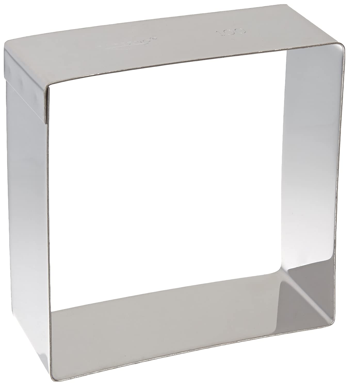 Paderno 47548-02 Quadrato, in Acciaio Inox, 100x100 mm Quadrato; 100x100; Acciaio; Inox