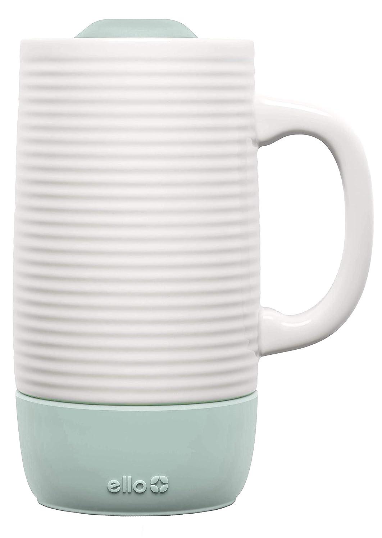 Ello Jane 18oz Ceramic Travel Mug with Silicone Boot