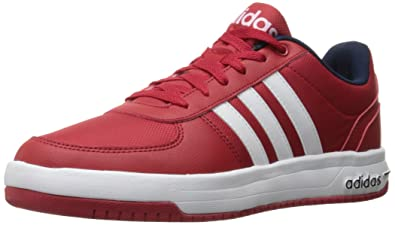 adidas mens cloudfoam red