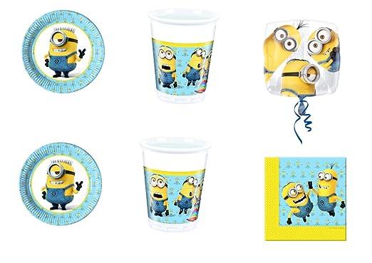 CDC - Kit n° 33 para fiesta de cumpleaños con personajes de ...