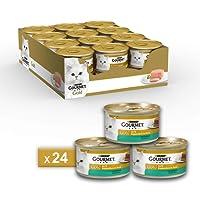 Gourmet Gold Paté per il Gatto, con Coniglio, 85 g - Confezione da 24 Pezzi