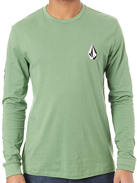 Volcom Deadly Stone BSC LS -Fall 2018-(A3631850_DKY) - Dark Kelly ...