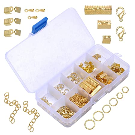 Jewellery Making starter kit beads pliers// tools findings 7 color variations