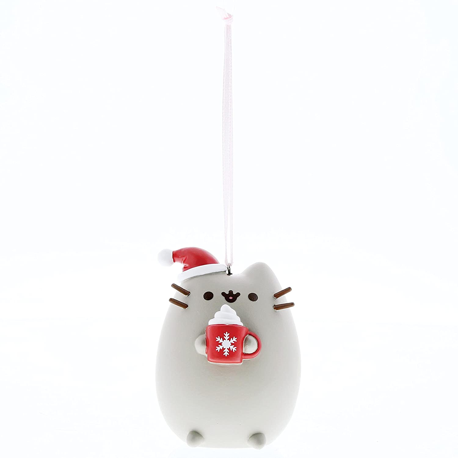 "Department 56 4058301 Pusheen Meowy ""Christmas Hanging Ornament"
