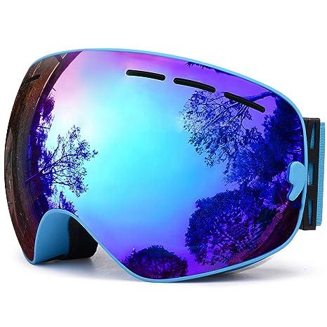 beae3aea36e Amazon.com   TUONROAD OTG Ski Goggles
